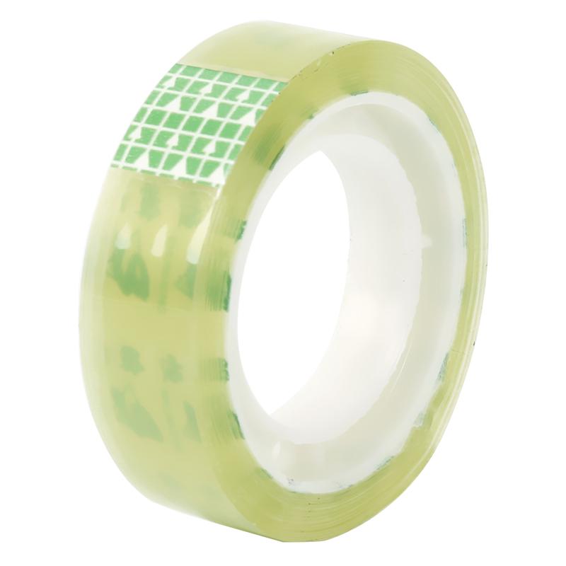 3筒装小胶带透明小号胶布1.6cm高粘度强力窄胶条办公学生手撕胶纸