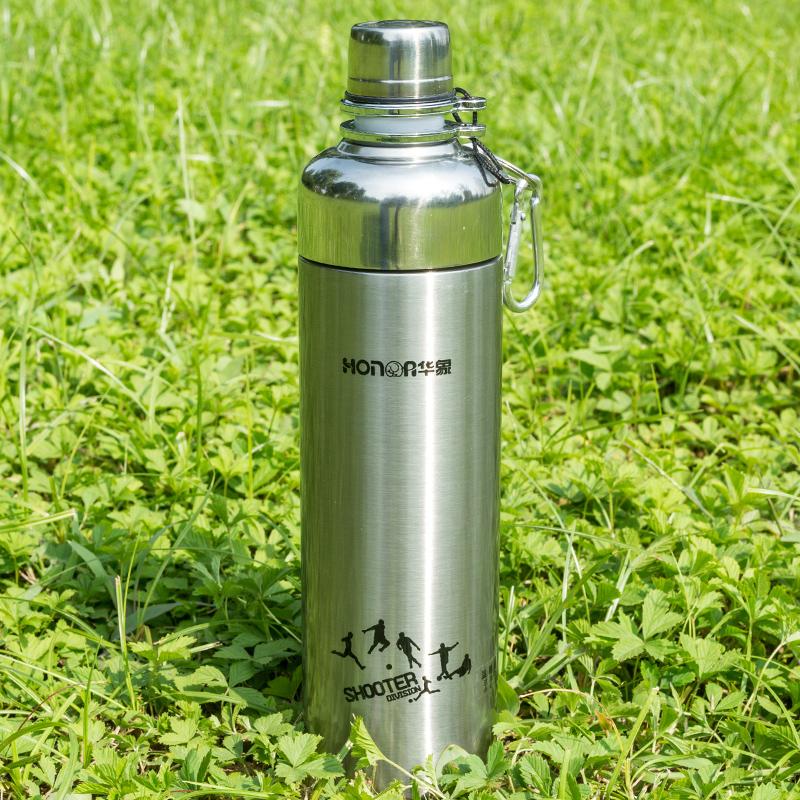 戶外運動保溫保冷水壺杯304不鏽鋼便攜大容量騎行學生家用水壺