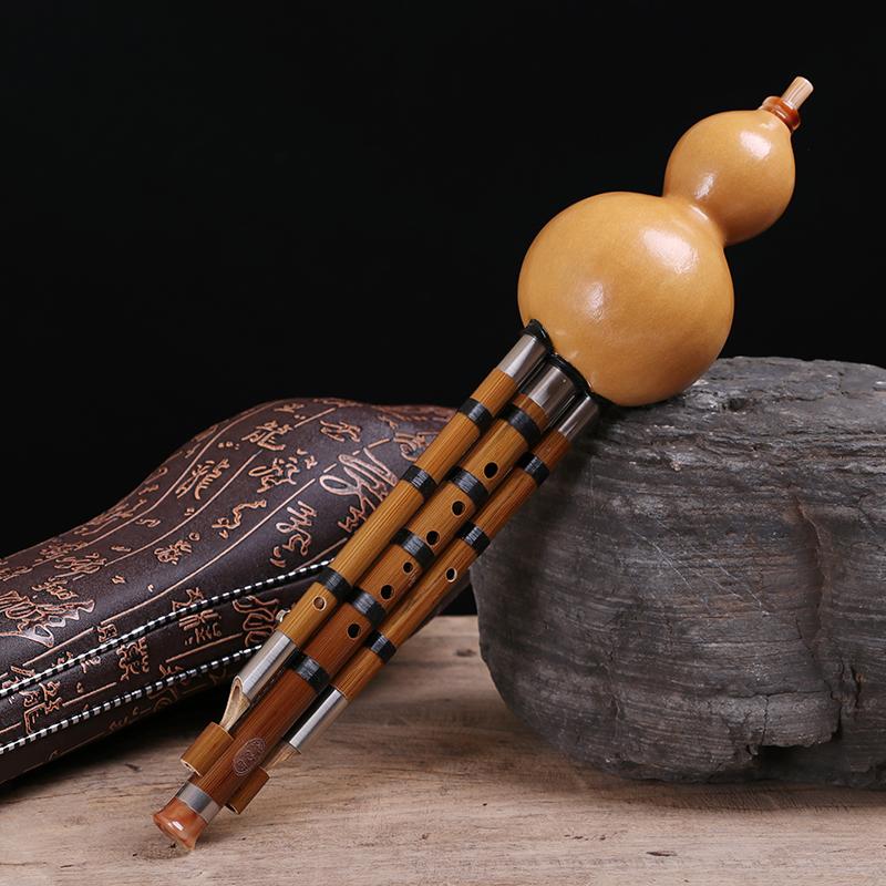 大人乐器初学傣味录音型 D 调小 Gf 调 b 调降 c 云南葫芦丝专业演奏型