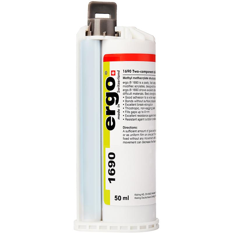 ergo1690瑞士进口焊接强力免打孔粘的牢强力防水胶水粘金属塑料陶瓷木头铁不锈钢瓷砖强力粘接油箱耐高温ab胶
