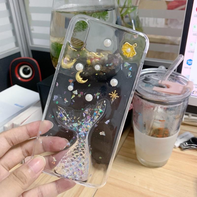美人鱼滴胶小米cc9手机壳小米10pro软壳小米8se/青春保护套探索女主图