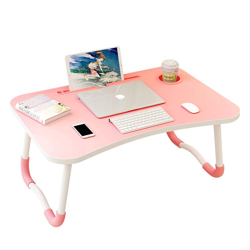 床上小桌子卧室坐地可以折叠简约多功能笔记本电脑懒人大学生寝室宿舍家用小桌板学习儿童防滑小书桌床上桌