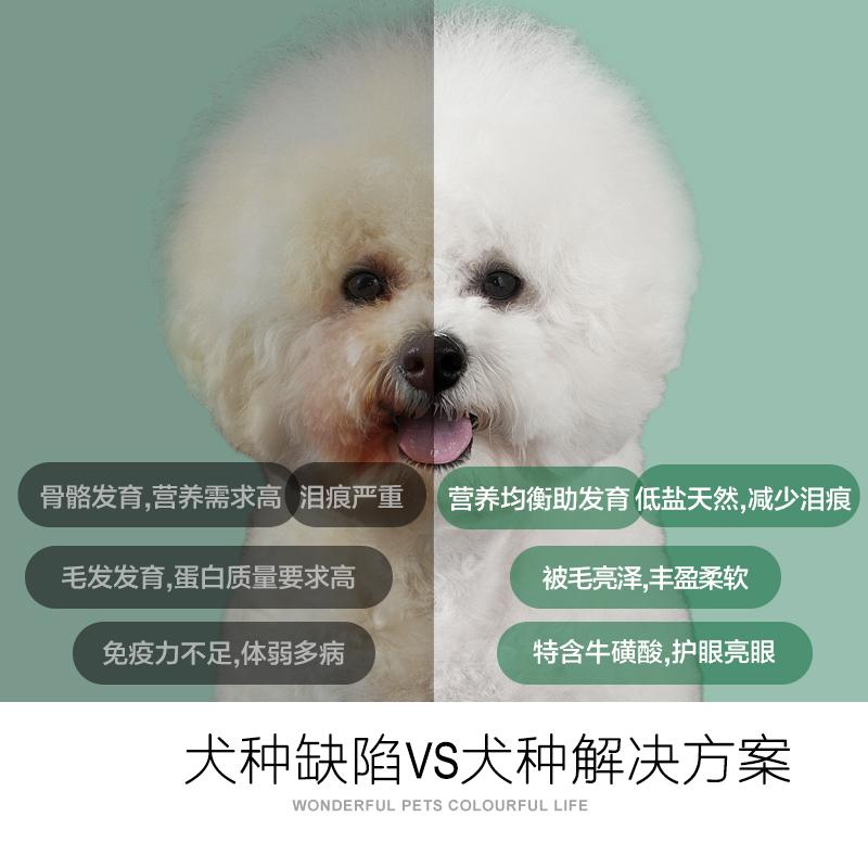 耐威克比熊幼犬专用2.5kg5斤3个月以上小型犬适用天然狗粮优惠券