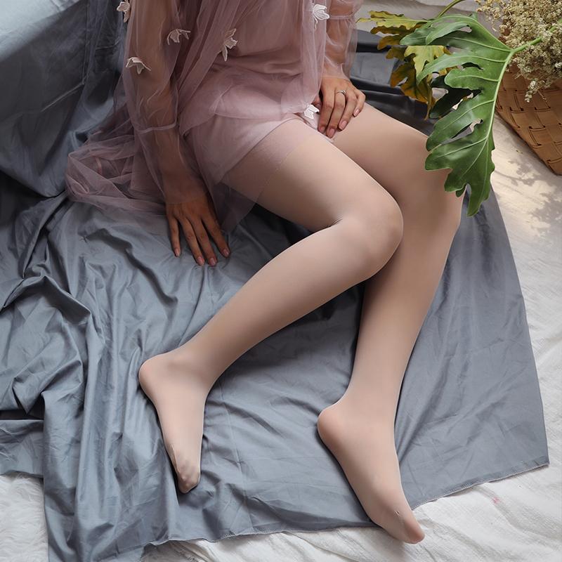 2双丝袜女春秋款肉色打底裤女 中厚防勾丝天鹅绒连裤袜光腿薄神器
