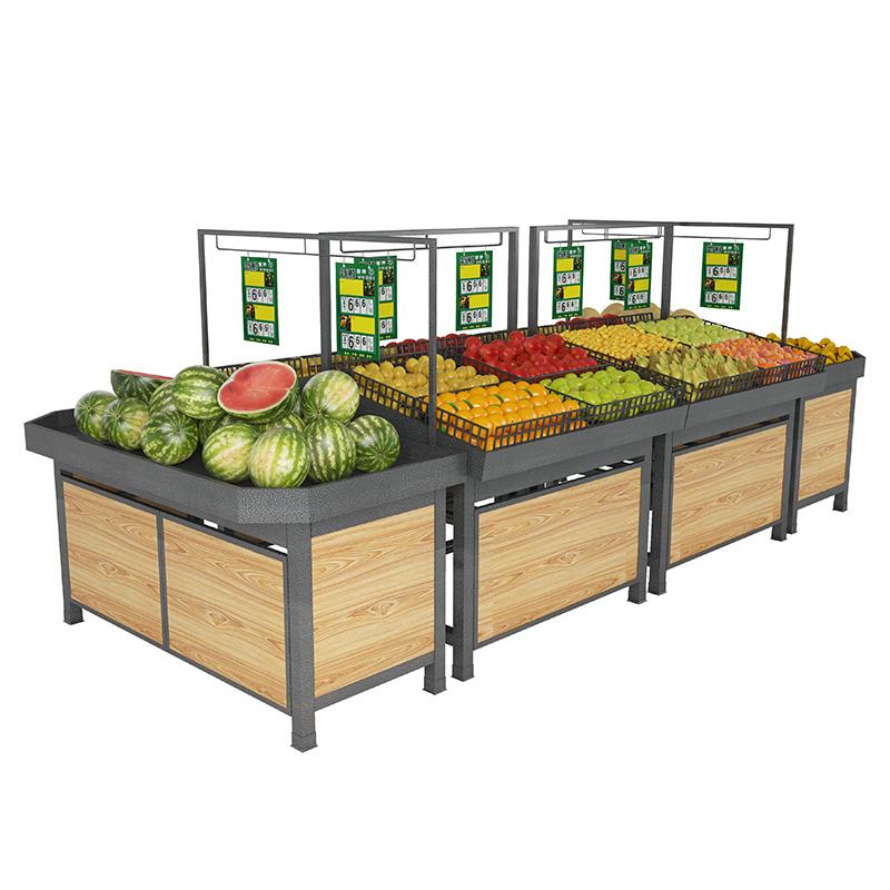 超市便利店果蔬货架展示架果蔬店水果店蔬菜店货架子中岛水果货架