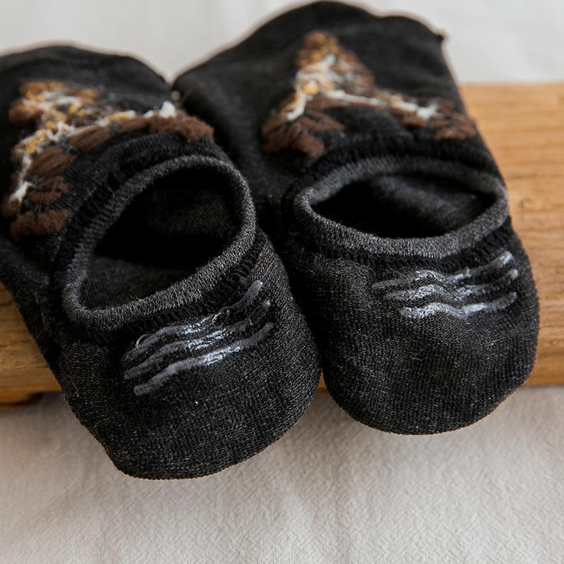 袜子男船袜男夏季薄款纯棉防臭短袜硅胶防滑浅口低帮透气隐形夏天