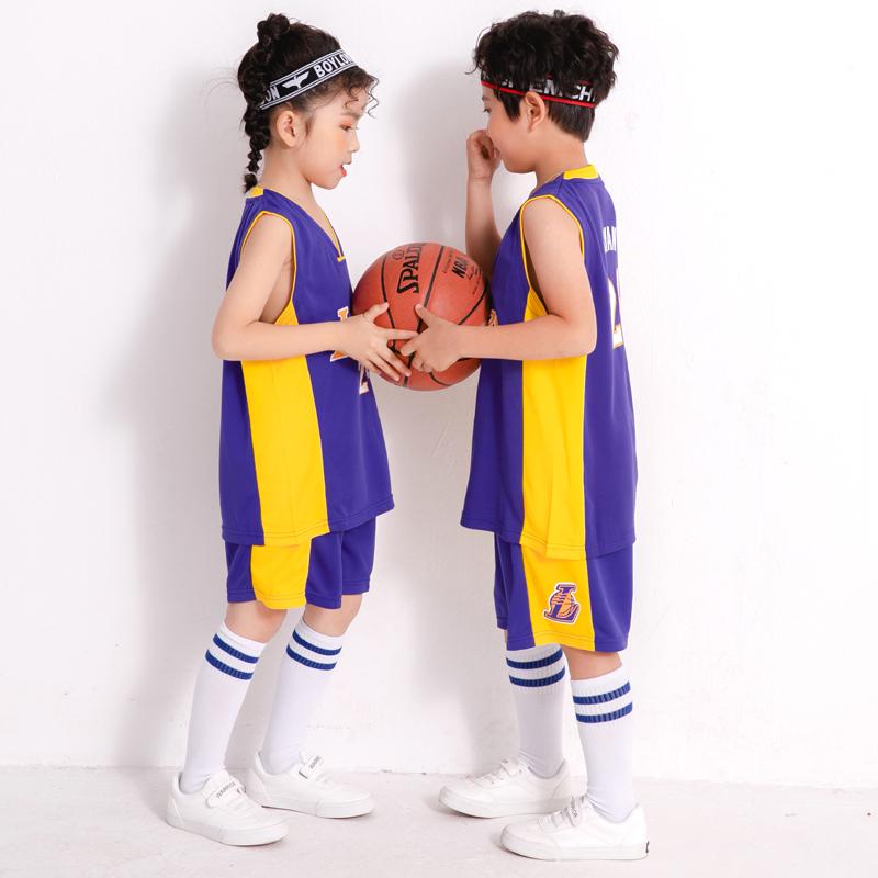男童运动套装夏季2020新款中大童女童夏装速干衣儿童装洋气篮球服