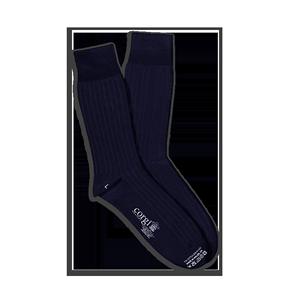 CORGI柯基英国进口男女薄款纯色商务长袜透气袜子女中筒袜夏季男