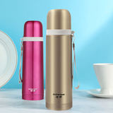 Xiongtai Bullet Vacuum Stainless Steel Thermos Cup Ms. Water Cup Kettle Student Warm Cup 500ml