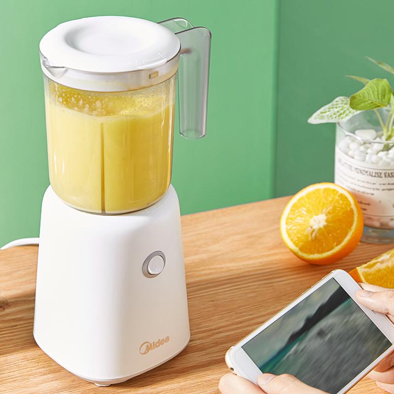 美的榨汁搅拌机家用多功能全自动果蔬料理炸汁辅食学生宿舍果汁杯
