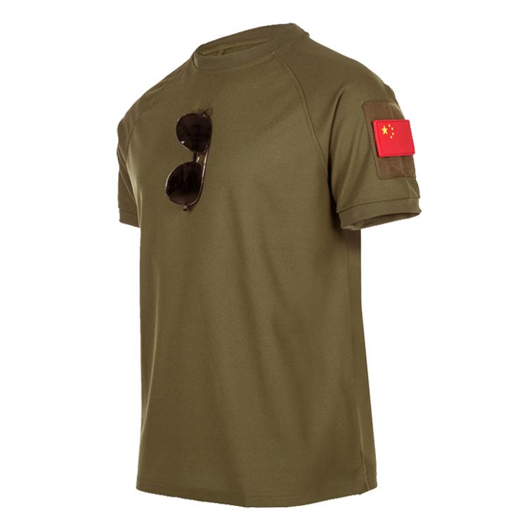特种兵T恤战术短袖军迷T恤圆领修身弹力夏季体恤511速干短袖男