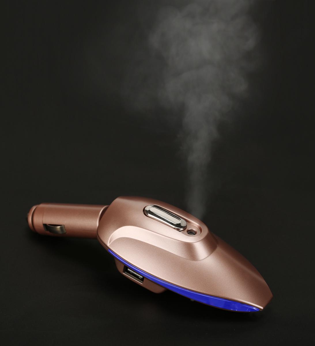 车载空气净化器除甲醛除异味负离子 车用加湿香薰喷雾器包邮