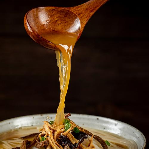霸蛮田头菇炖老鸡汤粉3盒NFC原汤纯鸡汤湖南常德米粉儿童营养食品