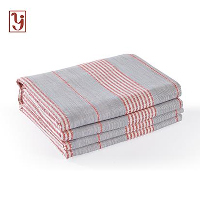 「春江雪」床单单件纯棉老粗布单双人全棉布床品被单春夏【鲁锦】