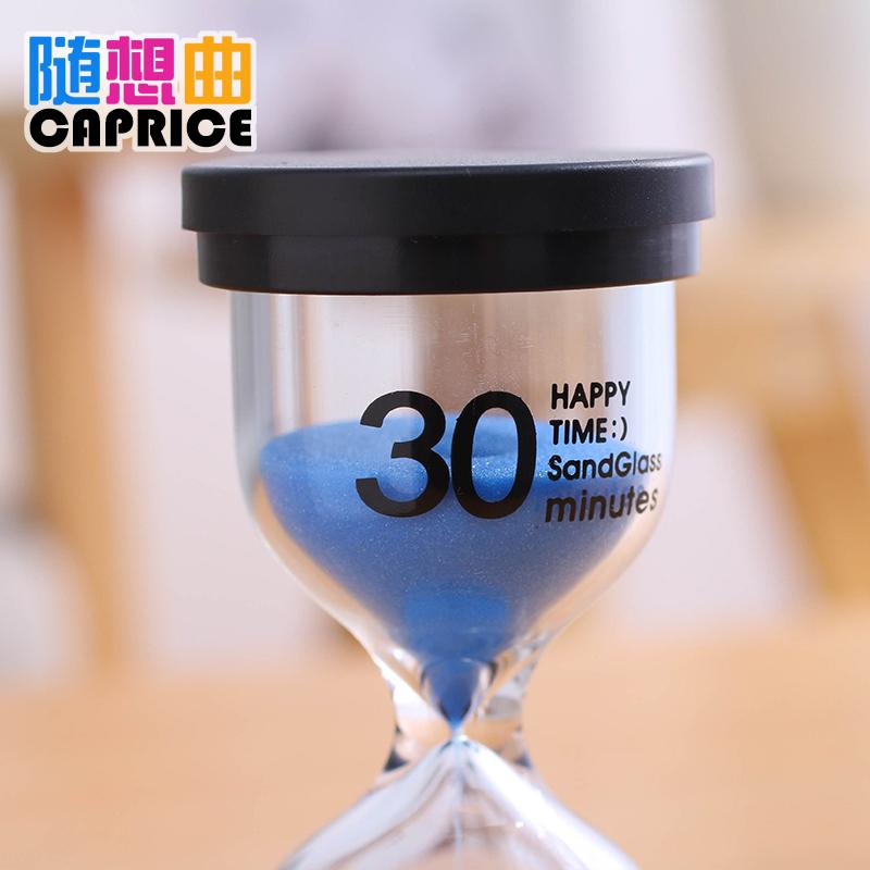 分钟时间防摔创意装饰摆件小礼物 30 10 5 3 1 儿童刷牙沙漏计时器