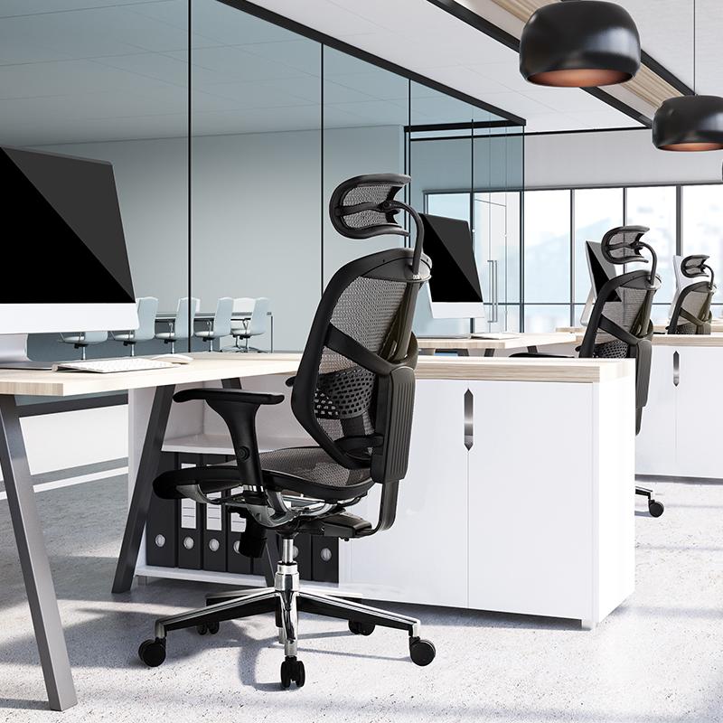保友金卓b高配版人体工学椅电脑椅联友网椅学生办公椅游戏电竞椅