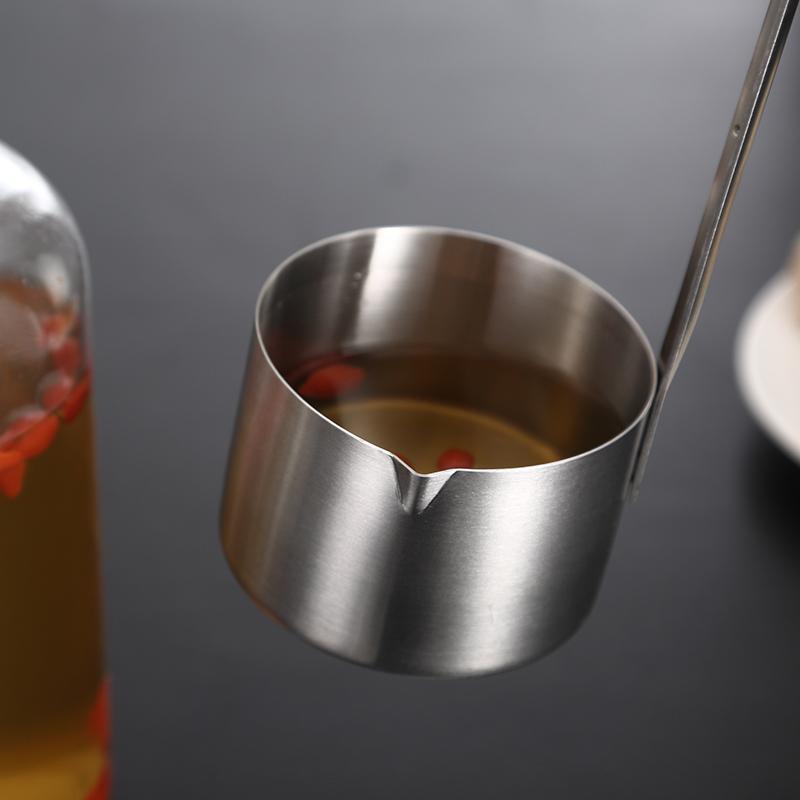 酒提子打酒器家用304不锈钢油漏斗舀盛酒勺打酒吊子酒提油提长柄