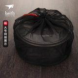 Outdoor Drawstring mesh bags tote grocery bags finishing pouch hang the bag net bag outdoor equipment