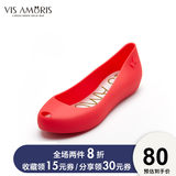 British Visamoris New Moses 2020 Hot Sale Scrub Baotou Fish Mouth Multicolor Jelly Shoes Women's Cool Single Shoes