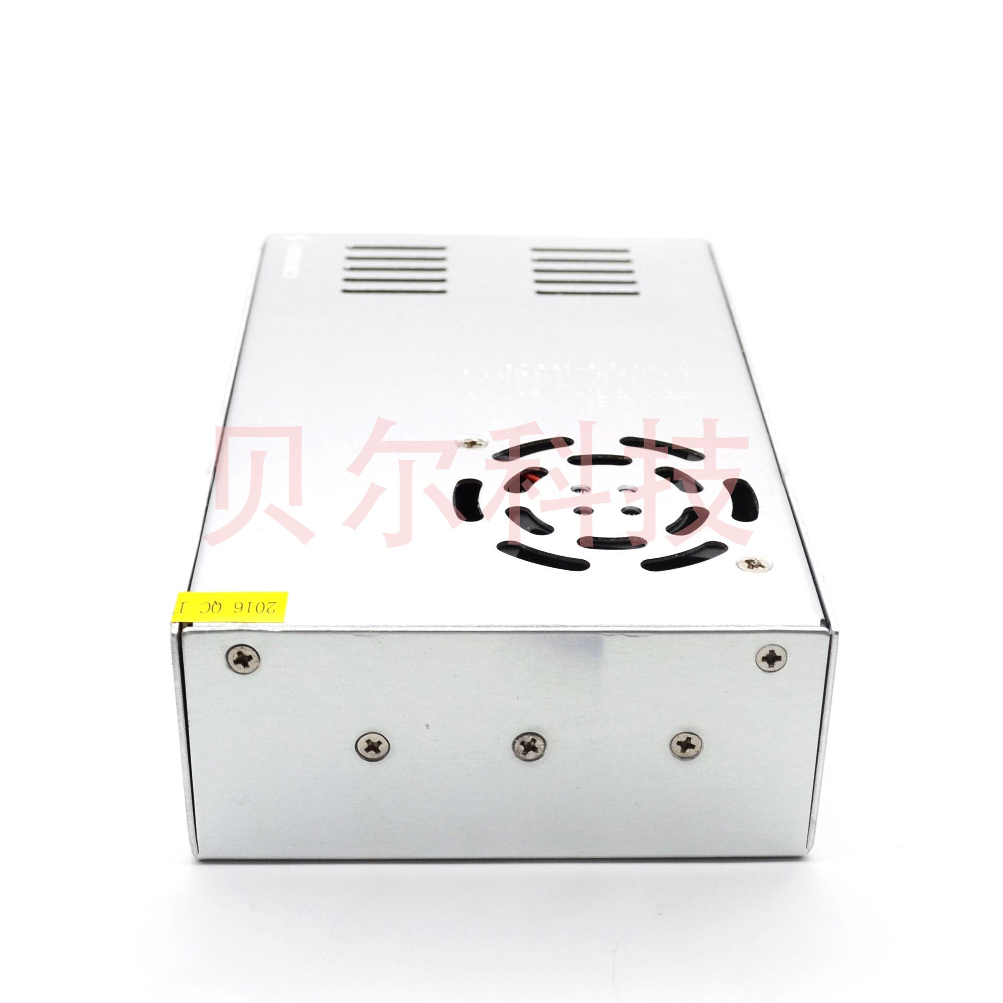 贝尔3D打印机 12V/24V 30A开关电源直流变压器360W 110v/220v切换