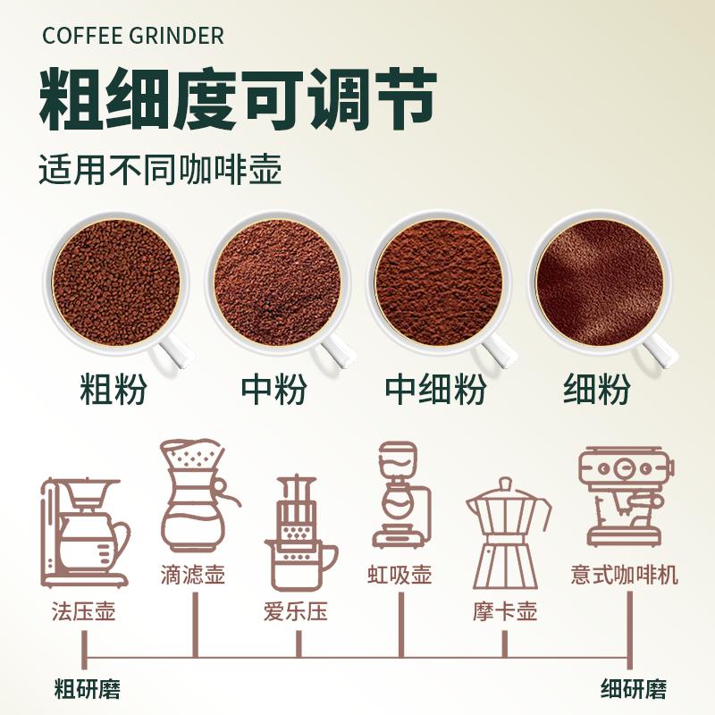 手动咖啡豆研磨机手动手摇磨豆机器具小型轴承定位家用手磨咖啡机