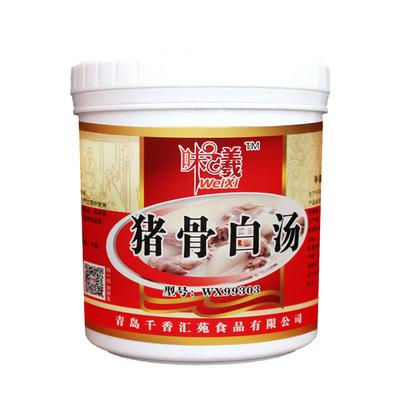 猪骨白汤 关东煮汤料火锅麻辣烫底料米线高汤膏 猪骨浓汤膏鲜香粉 - 图3