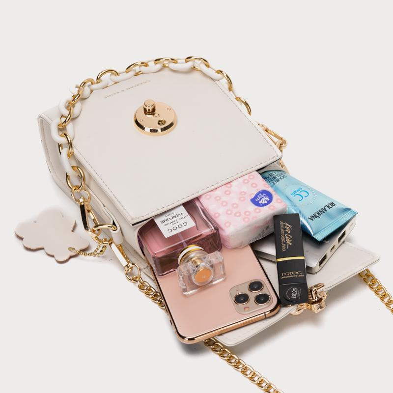CEEKAY迷你手机包包女2020新款潮百搭夏天链条斜挎包小包小ck女包