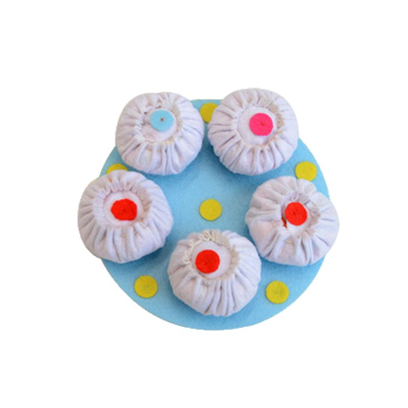 【布好玩_角色区】幼儿园创意手工成品仿真食物娃娃家美食玩教具