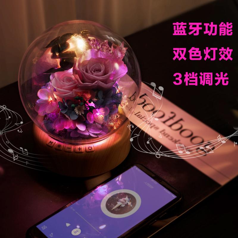 教师节礼物浪漫创意音乐盒定制水晶球八音盒生日礼物女朋友老婆