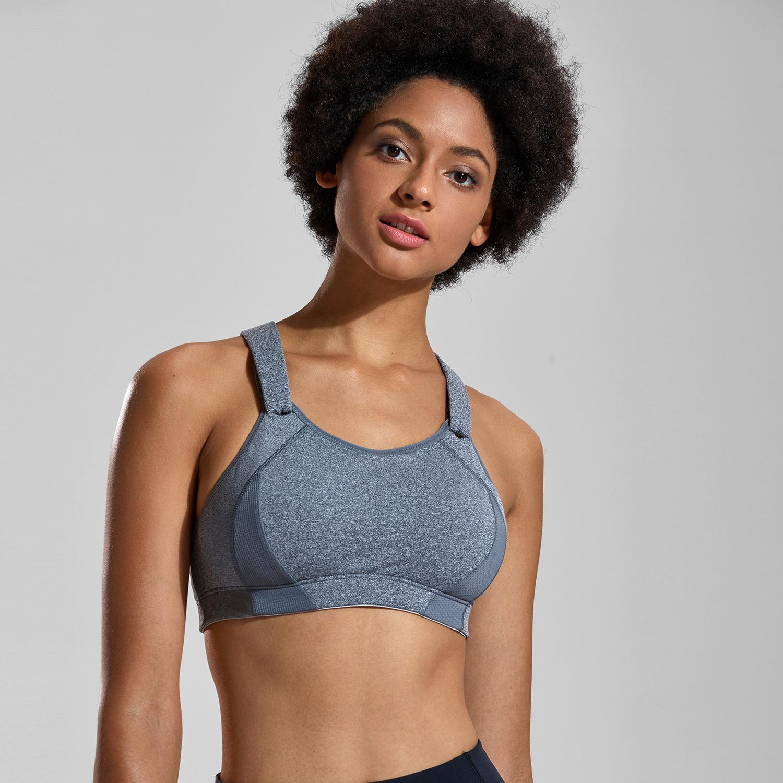 高强度运动内衣女防震跑步聚拢显胸小大码大胸健身服背心