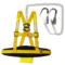 安全带高空作业安全绳套装电工户外施工防坠落保险绳五点式保险带
