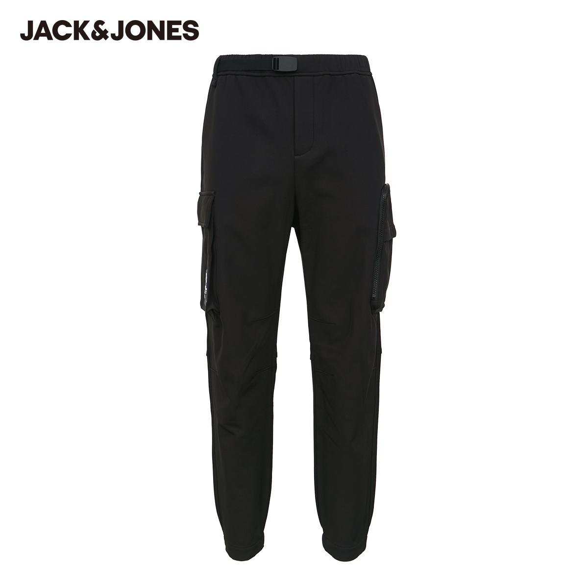 【预售】工装休闲裤加厚加绒新款男潮流机能街头杰克琼斯