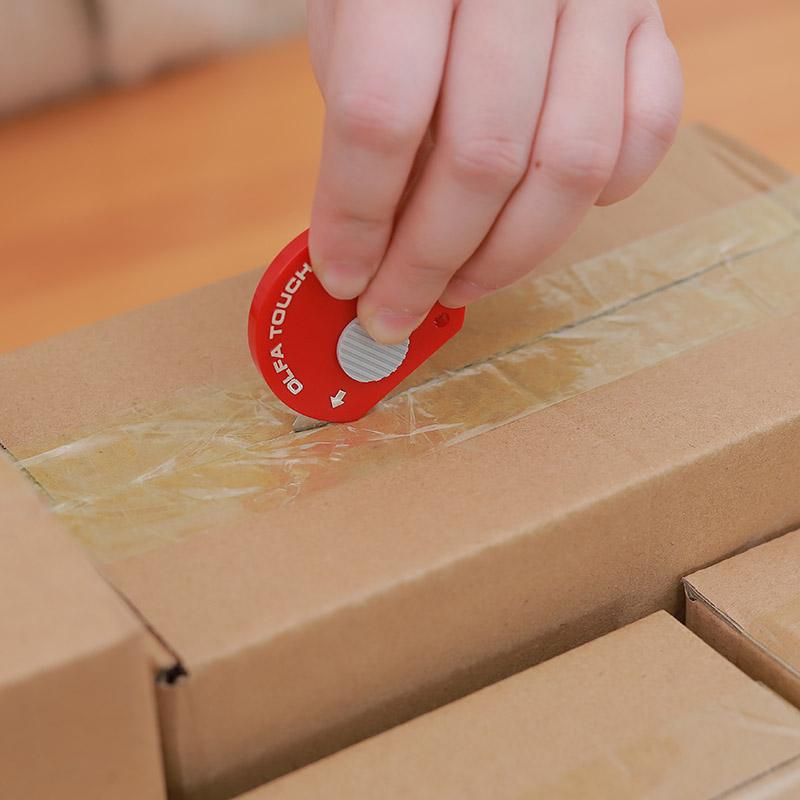 日本OLFA便携开箱器快递刀 迷你美工刀小刀开箱刀拆包裹神器随身