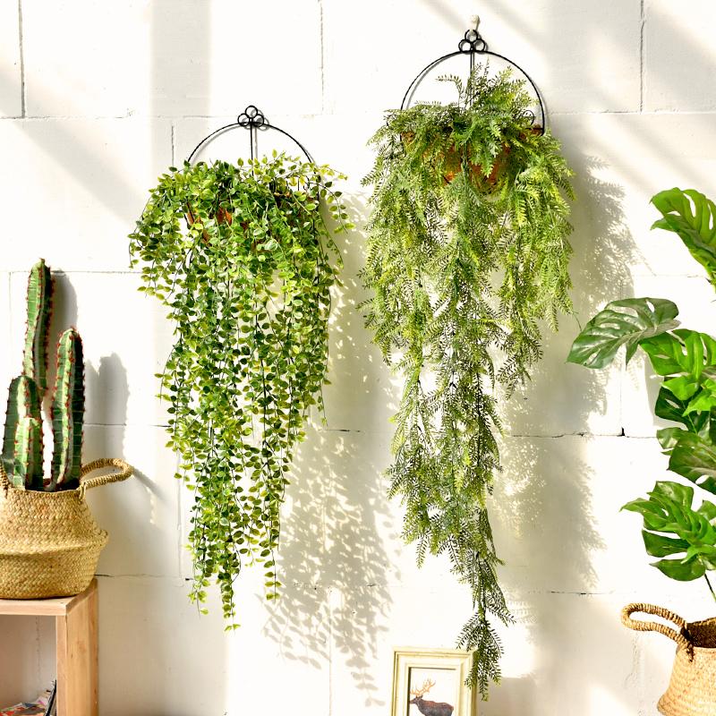 店铺墙面阳台卧室装饰品墙上欧式服装店墙壁植物壁挂墙饰挂件创意