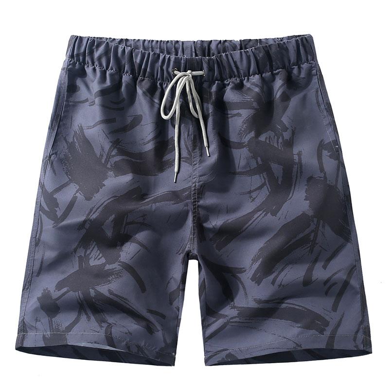 短裤男士韩版休闲五分大裤衩潮夏季加肥加大码宽松情侣速干沙滩裤