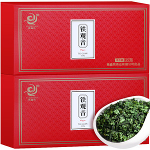 安溪浓香铁观音茶叶125g