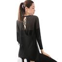 斯泊恩瑜伽服仙气性感套装女薄款运动健身房跑步宽松透气速干套装 - 4