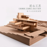 DIY sand table model building model making materials package assembled by hand creative gifts small house Fallingwater