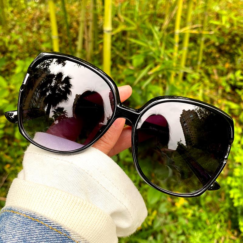 卡帝乐鳄鱼太阳镜男女偏光防紫外线2021时尚墨镜大脸长脸显瘦防晒
