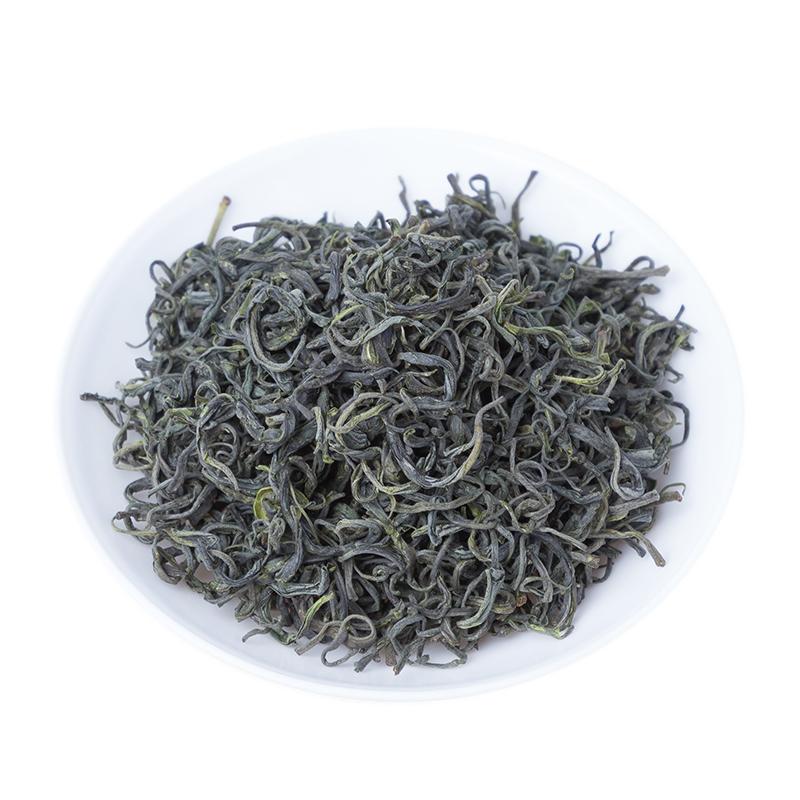 新茶高山绿茶雨前玄月茶浓香型散装 2018 斤袋装安庆茶叶岳西炒青 1