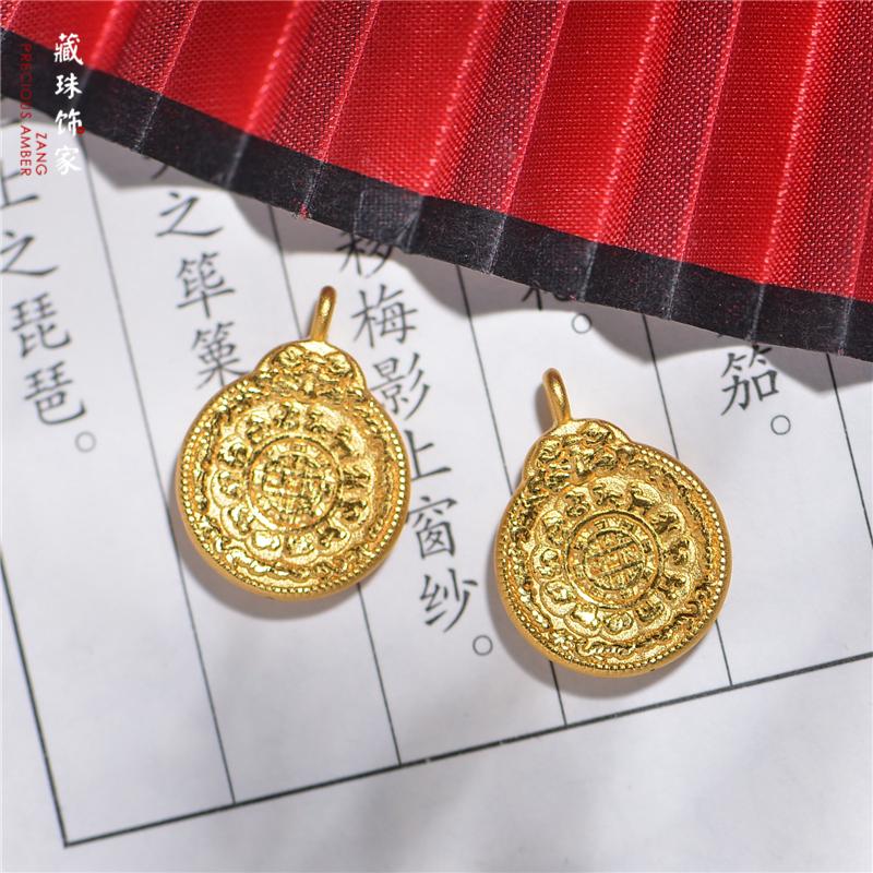 藏珠饰家 3D硬金辟邪纳福 999黄金九宫 精致工艺首饰手链