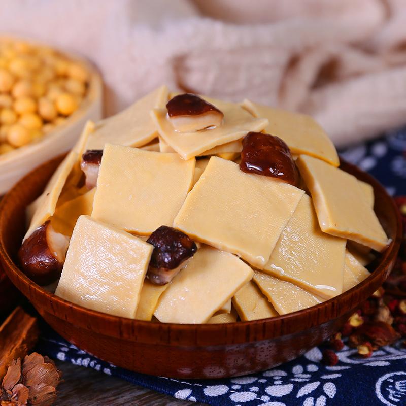 好吃的网红1500g麻辣香菇豆干小零食小吃散装香辣休闲食品排行榜