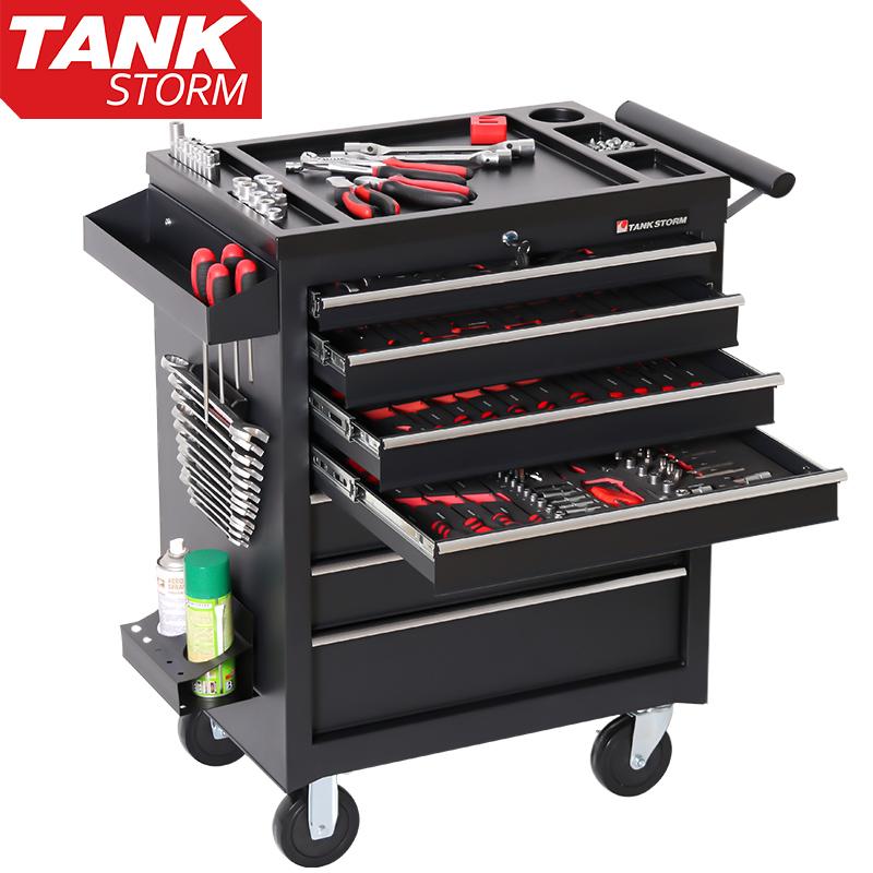 TANKSTORM工具车汽修推车多功能维修方案移动工具箱汽修套装