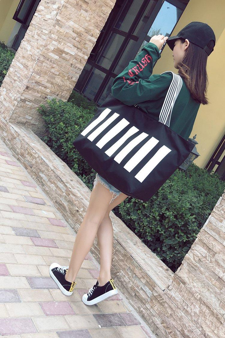 大包包新款女包韩版潮包帆布包女单肩包大容量手提购物袋