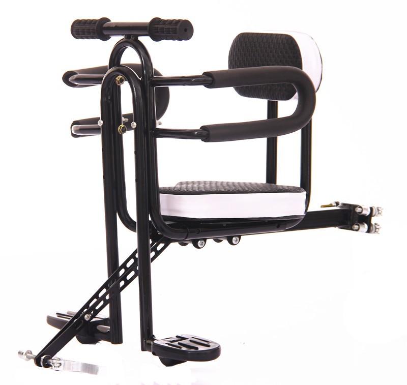 折叠电动车儿童前置座椅自行车弯梁车代驾车助力车山地通用快拆款