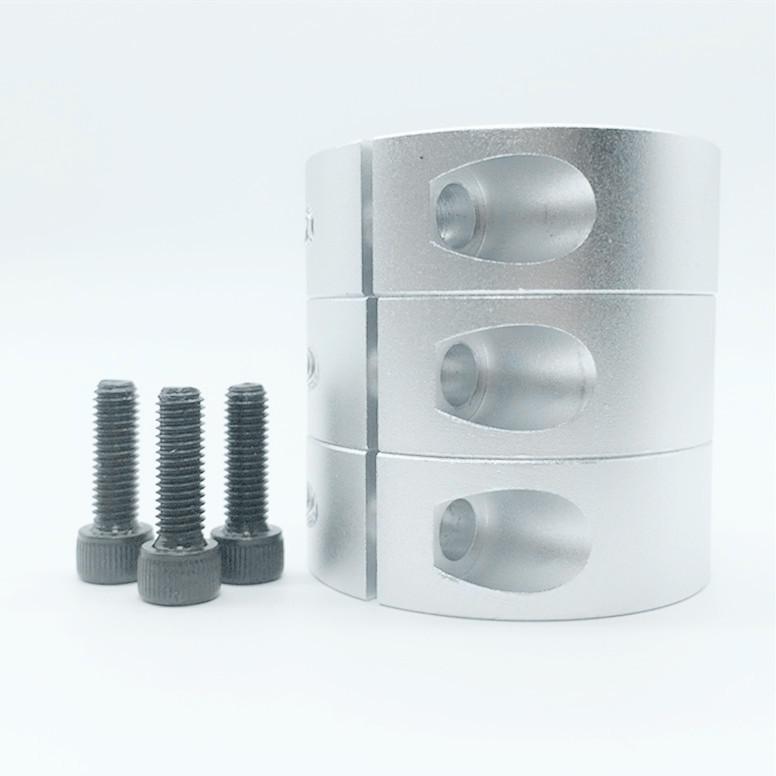 轴承固定环主轴压止推环轴套铝限位圈定位器挡圈轴夹 光轴固定环