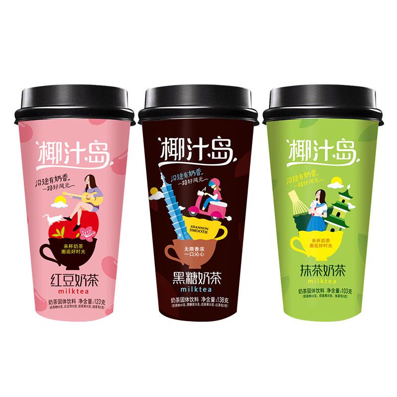 【鹿角巷】三口味超大杯138g*4杯