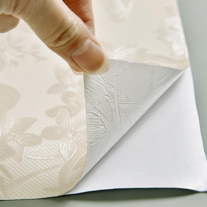 背景墻貼畫 3D 米防水防潮自貼墻紙臥室溫馨家用客廳 50 壁紙自粘大卷