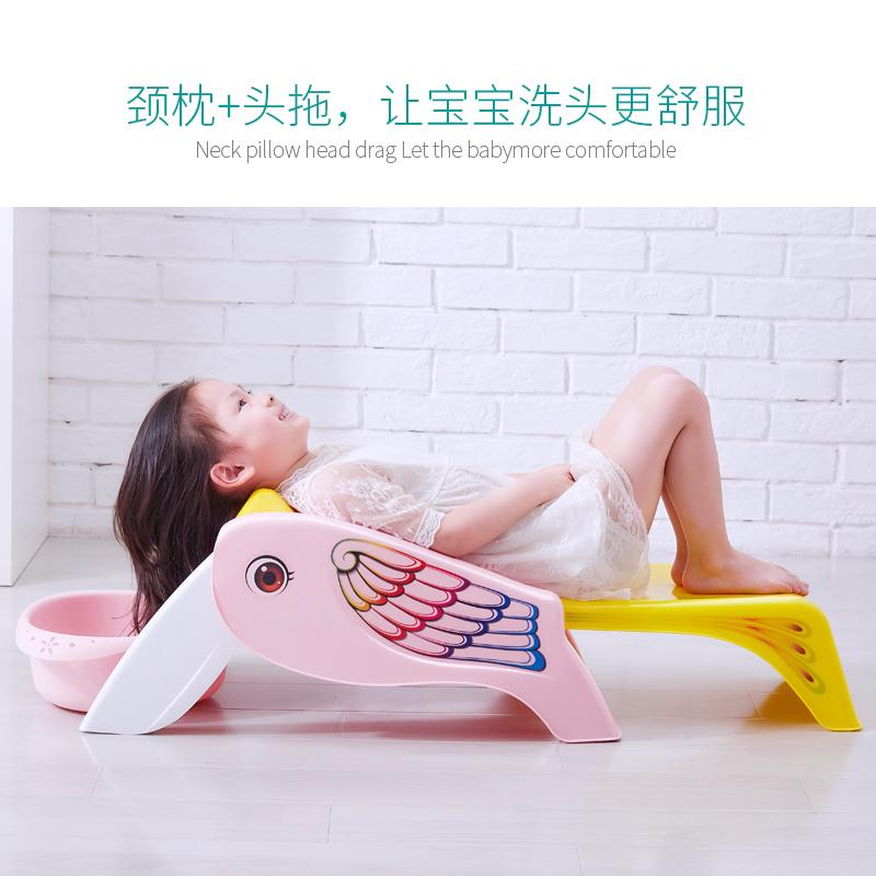 儿童洗头躺椅可折叠婴儿神器宝宝家用大号小孩坐洗发洗头发床凳子