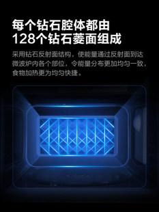 美的微波炉家用小型多功能智能迷你转盘式旗舰正品特价新款L213C
